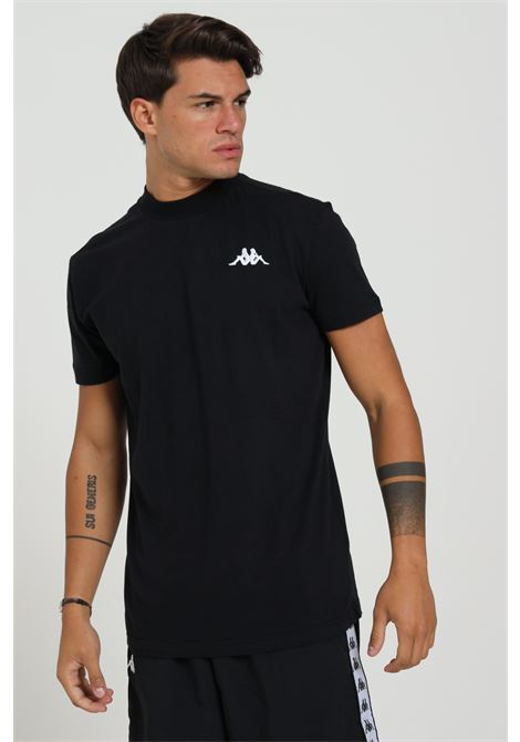 T-shirt Logo Sul Cuore E Stampa Sul Retro KAPPA | T-shirt | 304L0F0901