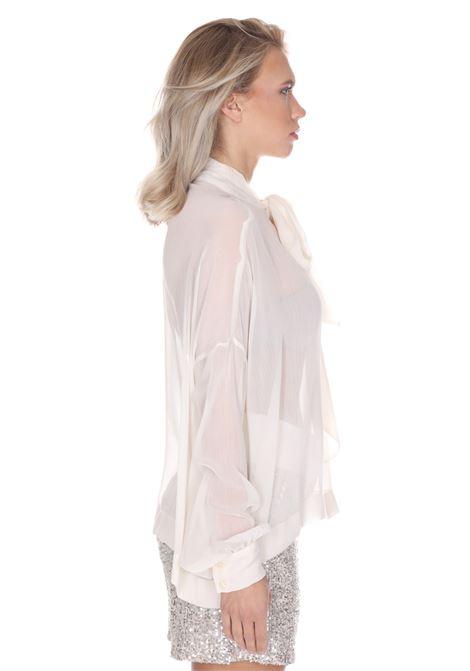 Camicia Con Fiocco Wa0267t4147 LIU JO | Camicie | WA0267T414710701