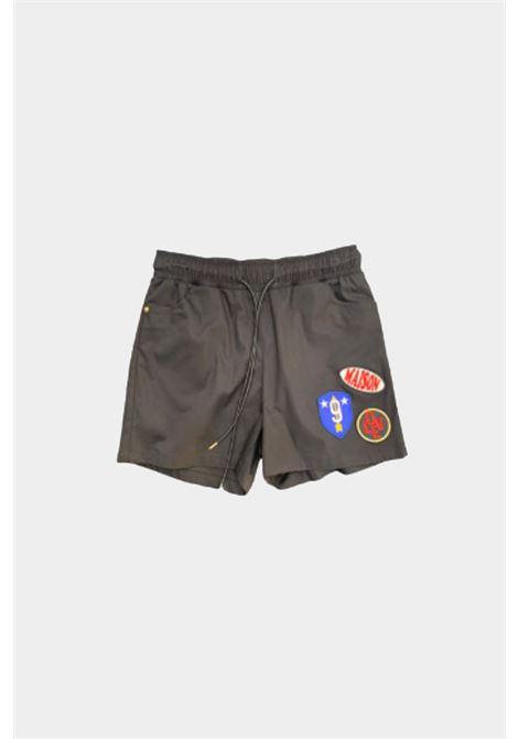Shorts Con Molla M9fs508 MAISON 9 PARIS D | Shorts | M9FS508FANGO
