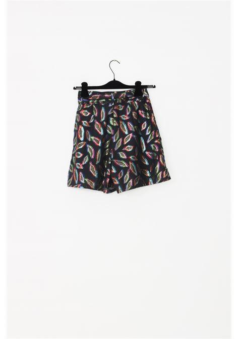 Shorts donna fantasia nbts effetto laminato NBTS | Shorts | 358UNI