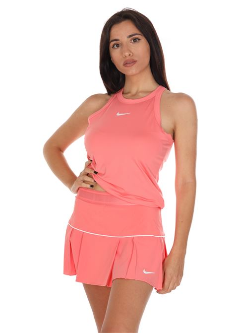 Gonna Modello Tennista Tinta Unita Con Pieghe NIKE | Gonne | AT5724655