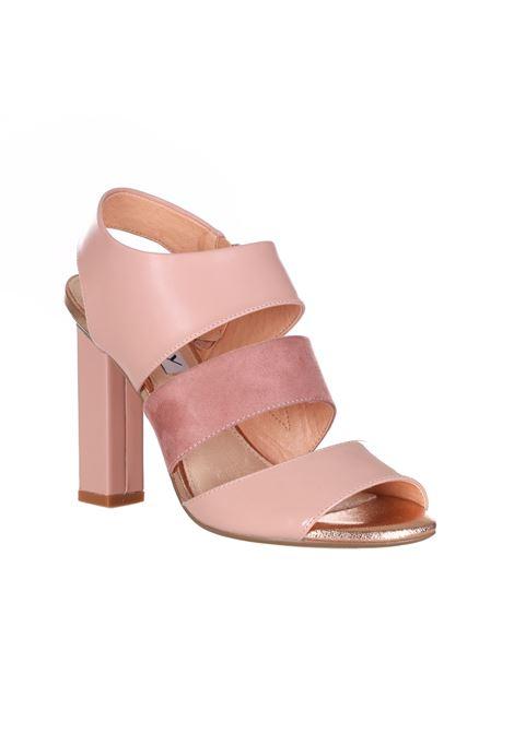 Sandalo Con Tacco Quadrato Tinta Unita OSEY | Party Shoes | SA0713UNI