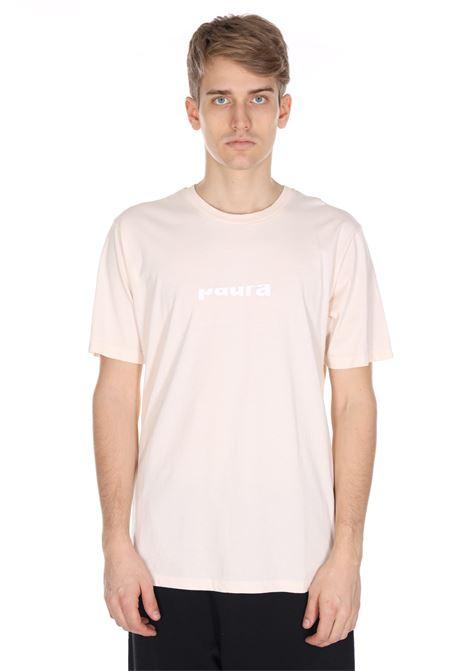 T-shirt Tinta Unita Con Stampa Frontale PAURA | T-shirt | 03PM1904M01090PINK