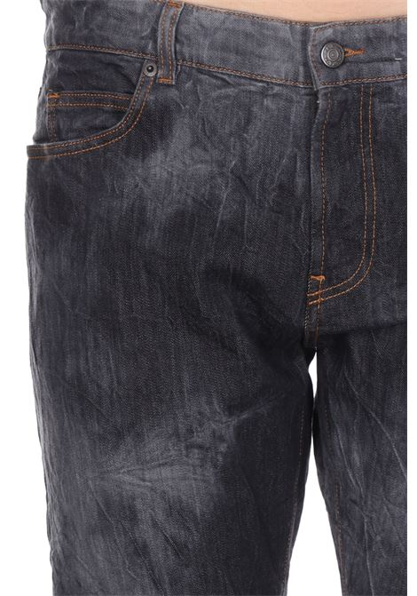 Jeans Basic Stampato PAURA | Jeans | 03PM4016M07921BLACKWHITE