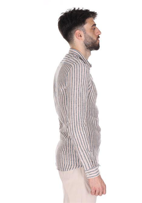 Camicia In Lino Sseinse SSEINSE | Camicie | CE533SSBEIGE/BLU