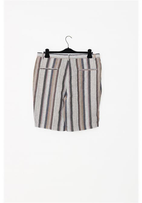 Shorts uomo fantasia sseinse causal stampa righe SSEINSE | Shorts | PB593SSFANTASIA