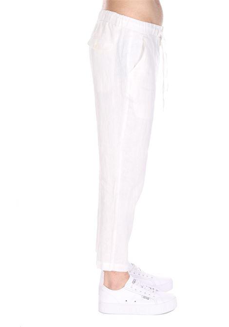 Pantalone Con Molla Sseinse SSEINSE | Pantaloni | PSE584SSBIANCO