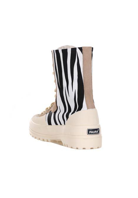SUPERGA X PAURA | Sneakers | S6111BWBLACKZEBRA.