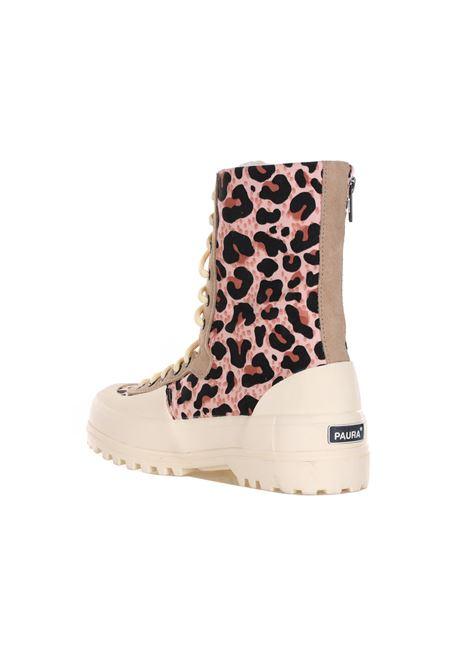 SUPERGA X PAURA | Sneakers | S6111BWBROWNLEOPARD