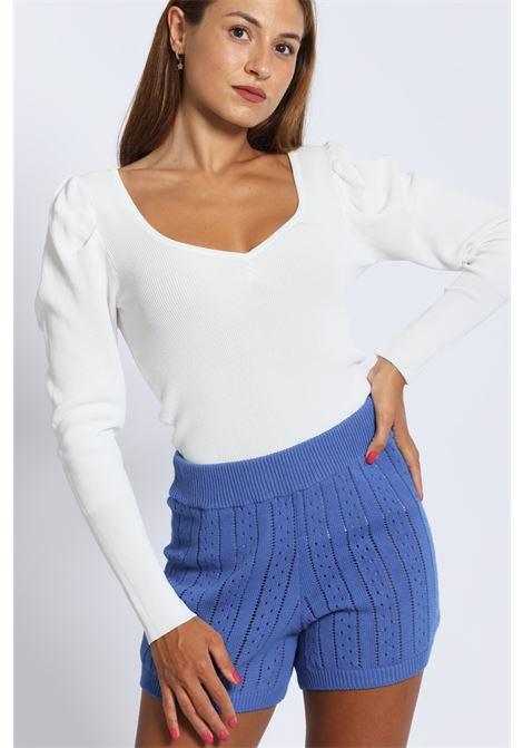 Shorts In Maglia 7097k VICOLO | Shorts | 7097KBLU