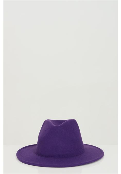 Purple hat bucket model in solid color with internal adjustment.Addicted ADDICTED | Hat | BORSELLINO-HATVIOLA