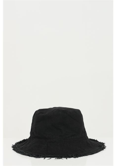 Black hat with fringes, fisheman model. Brand: Addicted ADDICTED | Hat | BUCKET-HATNERO
