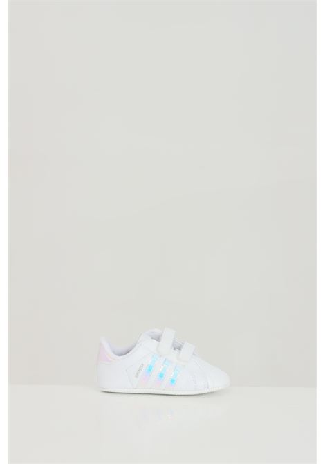 Sneakers newborn white adidas superstar holographic ADIDAS | Sneakers | BD8000.