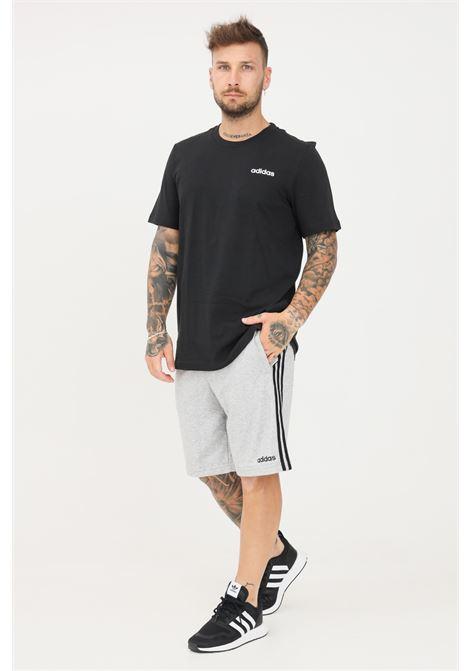 Adidas gray men's shorts with bands ADIDAS | Shorts | DU7831.