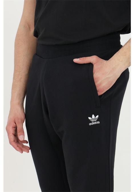 Men's trousers black adidas loungewear trefoil essential ADIDAS | Pants | DV1574.