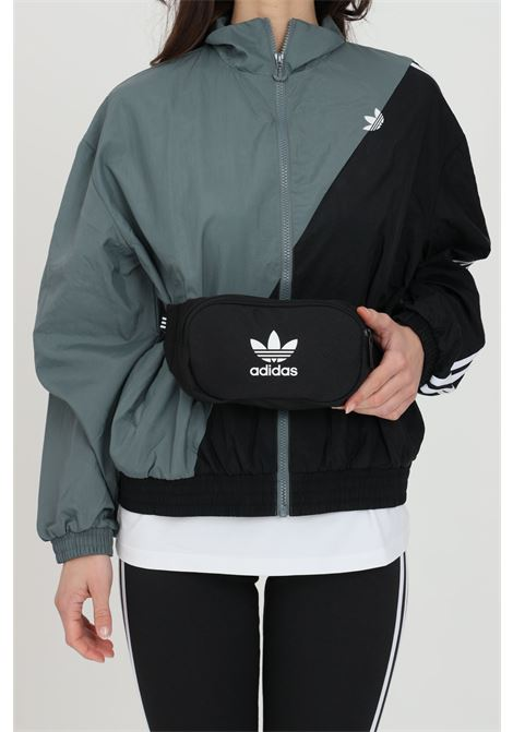 Black pouch with contrasting logo on the front adidas ADIDAS | Pouch | DV2400.