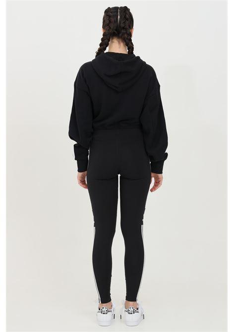 Leggings woman black adidas loungewear trefoil ADIDAS | Leggings | DV2636.