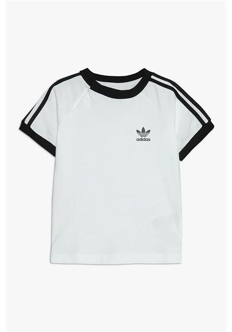 T-shirt baby white adidas stripes ADIDAS | T-shirt | DV2824.