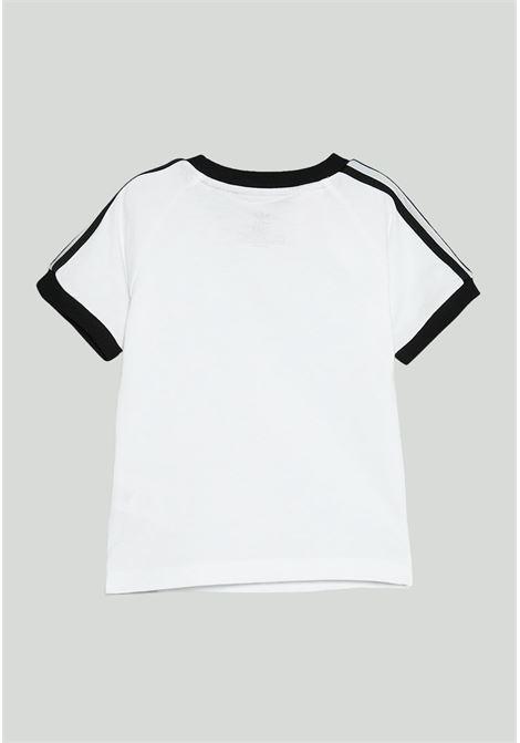 T-shirt neonato bianca adidas stripes ADIDAS | T-shirt | DV2824.