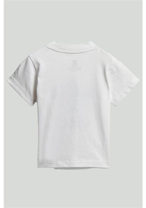 White baby T-shirt adidas trefoil ADIDAS | T-shirt | DV2828.