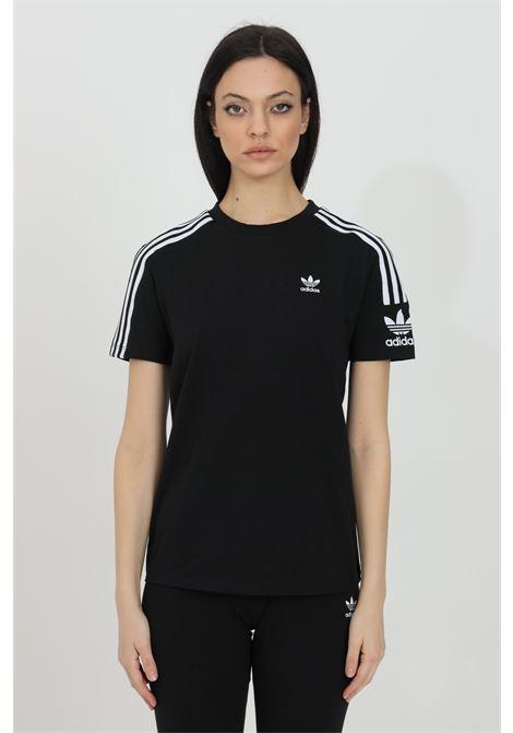 T-shirt girocollo con logo ricamato, tinta unita ADIDAS | T-shirt | ED7530.