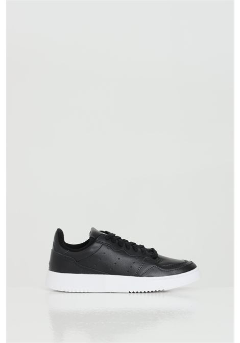 Supercourt Sneakers in solid color and openwork ADIDAS | Sneakers | EE7727.