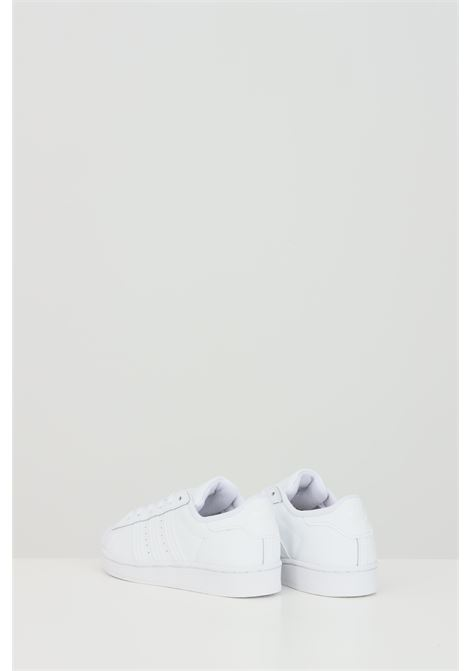 White superstar sneakers, closure with laces. Baby model. Brand: Adidas ADIDAS | Sneakers | EF5395FTWWHT/FTWWHT