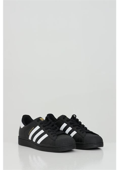 Black unisex sneakers adidas superstar ADIDAS | Sneakers | EG4959CBLACK/FTWWHT