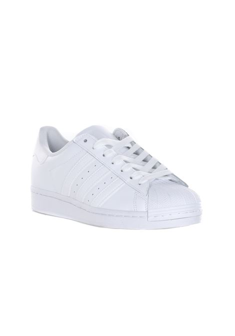 Superstar Sneakers FTWWHT/FTWWHT/FTWWHT. Solid colours. Round toe. ADIDAS | Sneakers | EG4960.
