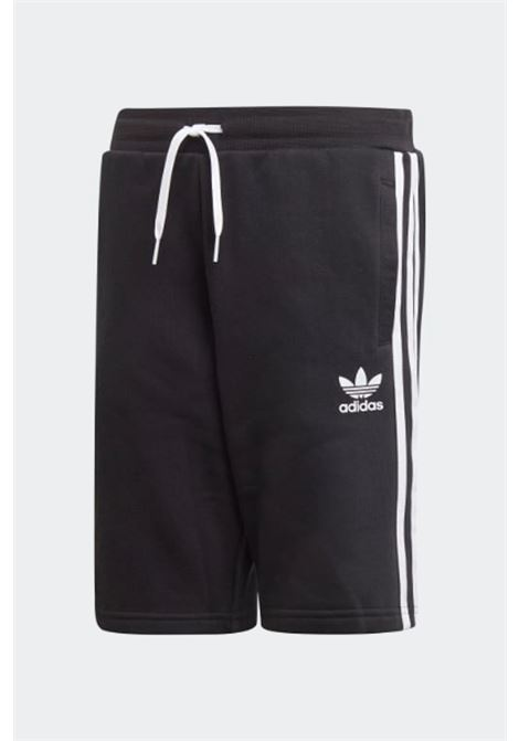 Black baby shorts with elastic waistband adidas ADIDAS | Shorts | EJ3250.