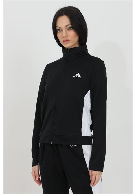 Tuta team sports donna nero sport ADIDAS | Tute | FI6696.