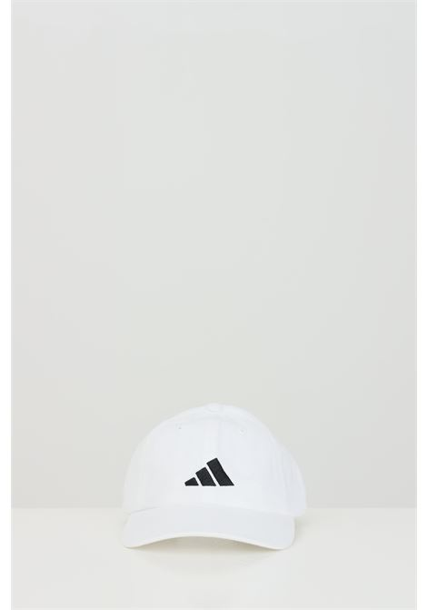 Adidas white unisex cap with snapback closure ADIDAS | Hat | FK4421WHITE/WHITE/BL