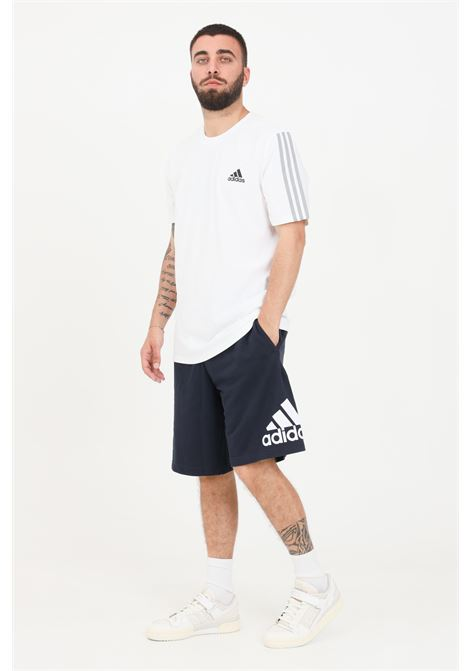 Shorts must have badge of sport uomo blu adidas ADIDAS | Shorts | FM6349.