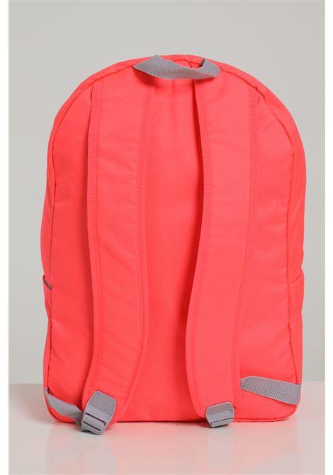 Zaino donna rosa adidas in tinta unita con logo a contrasto ADIDAS | Zaini | FT8763SIGPNK/BLACK