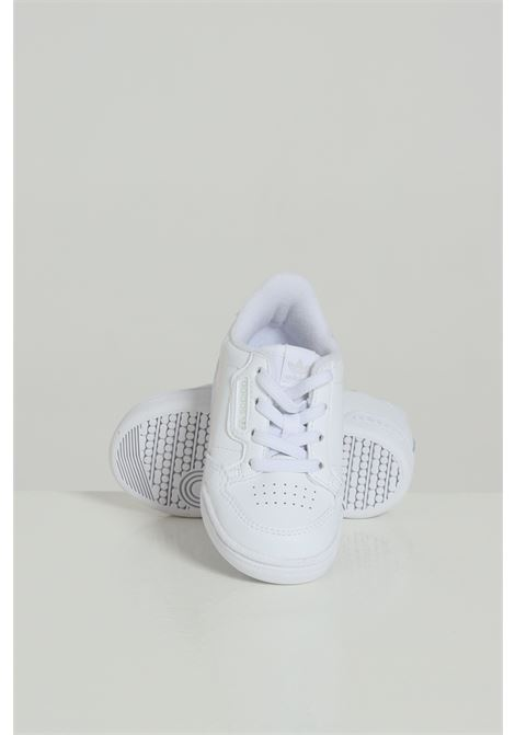 White baby sneakers adidas Continental 80  ADIDAS | Sneakers | FU6670.