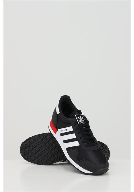 Sneakers uomo nera adidas USA 84 ADIDAS | Sneakers | FV2050.