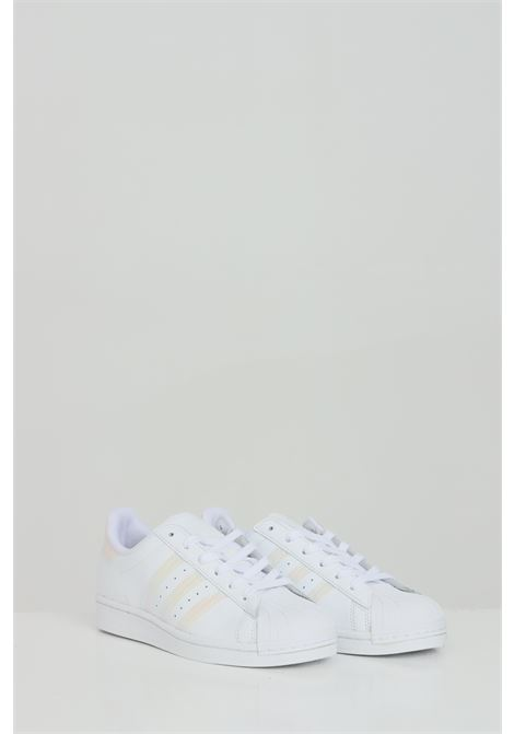 Sneakers Superstar con bande laterali in glitter ADIDAS | Sneakers | FV3139.