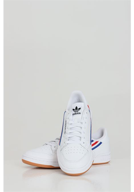 White men's continental 80 sneakers adidas ADIDAS | Sneakers | FX5699.