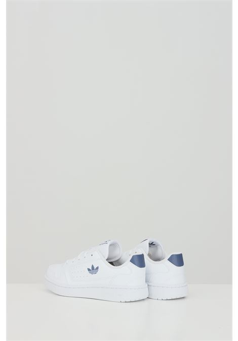 White Ny 90 sneakers in solid color with side logo, closure with laces. Baby model. Brand: Adidas ADIDAS | Sneakers | FX6474.