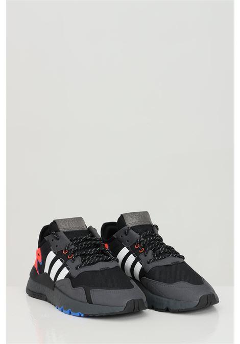 Sneakers nite jogger uomo nero adidas ADIDAS | Sneakers | FX6834.