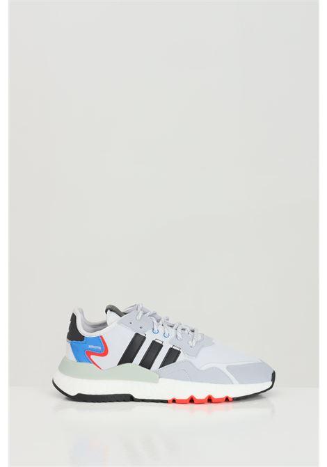 Sneakers nite jogger uomo grigio adidas ADIDAS | Sneakers | FX6835.