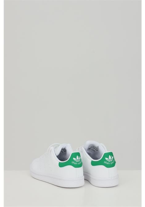 White STAN SMITH C sneakers, closure with laces. Baby model. Brand: Adidas ADIDAS | Sneakers | FX7524.