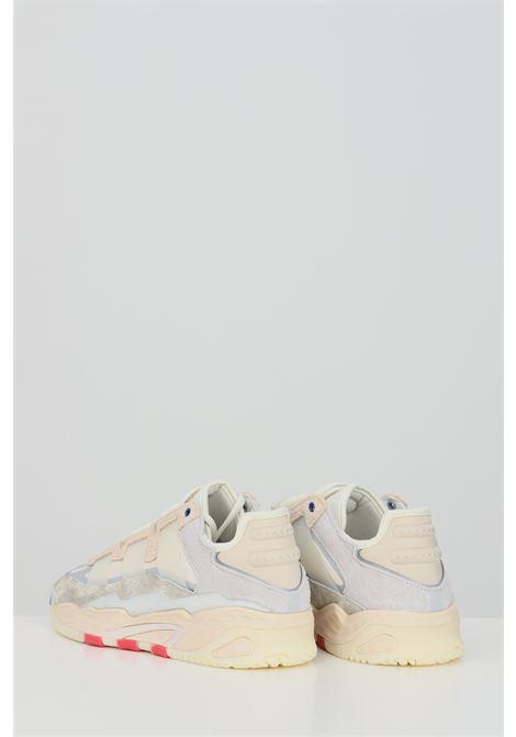 Sneakers uomo beige adidas NITEBALL CREAM ADIDAS | Sneakers | FX7643.