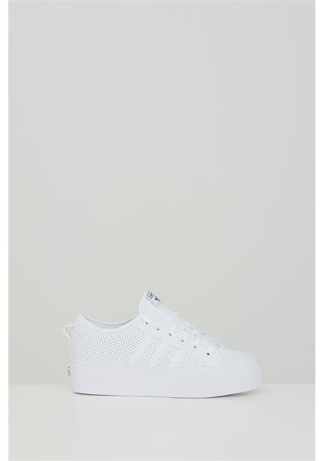 Sneakers nizza platform donna bianco adidas ADIDAS | Sneakers | FX9180.