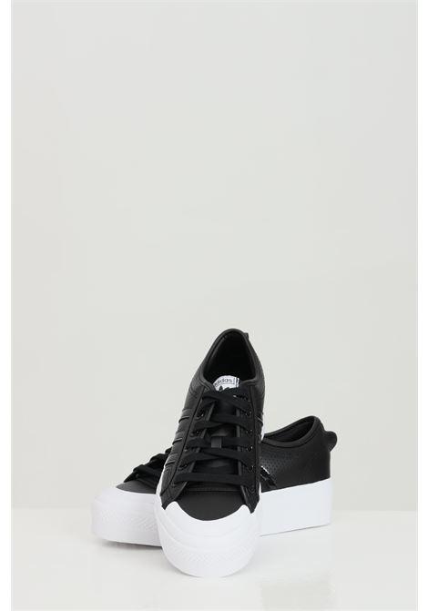 Sneakers nizza platform w donna nero adidas ADIDAS | Sneakers | FX9181.