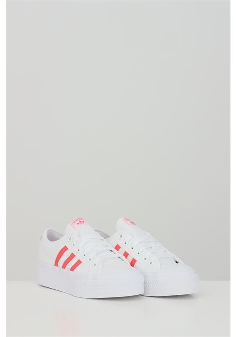 Sneakers nizza platform donna bianco adidas ADIDAS | Sneakers | FY2260.
