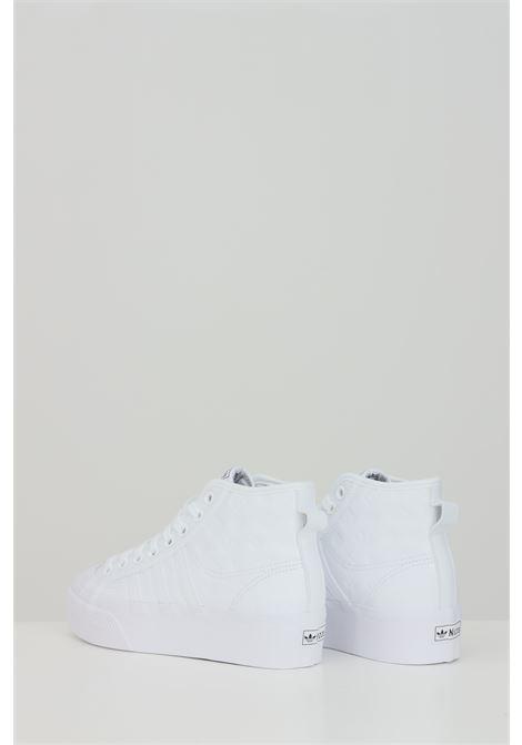 Sneakers nizza platform mid donna bianco adidas ADIDAS | Sneakers | FY7602.