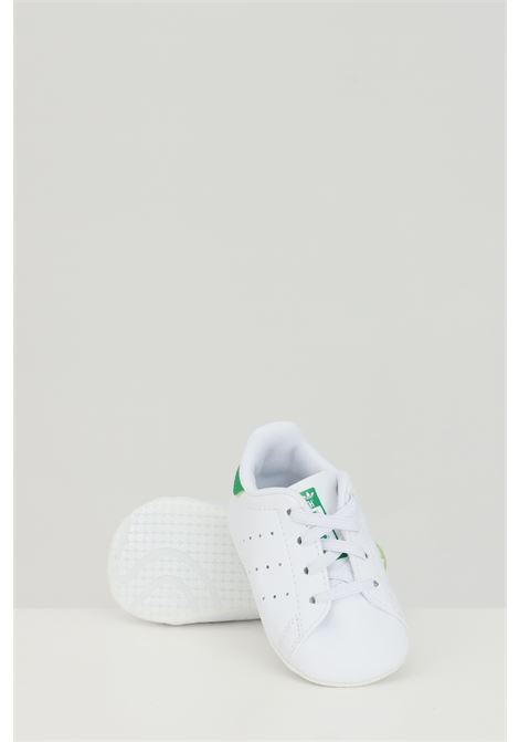 Sneakers neonato bianche adidas STAN SMITH CRIB ADIDAS | Sneakers | FY7890.