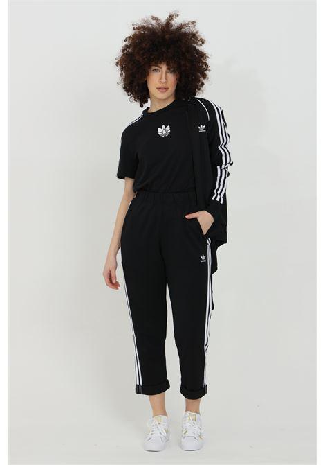 Black women's primeblue relaxed boyfriend trousers adidas ADIDAS   Pants   GD2259.