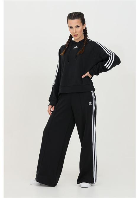 Pant woman black adidas relaxed wide leg ADIDAS | Pants | GD2273.